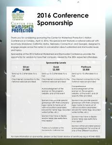 Sponsorship Form Cover